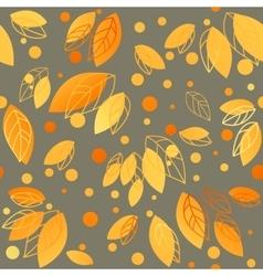 Gold fall design vector image