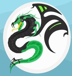 Cyber Dragon vector image vector image