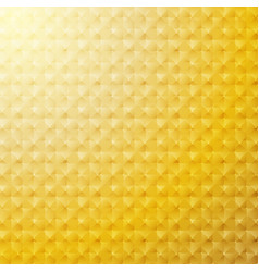 abstract 3d geometric grid pattern gold color vector image