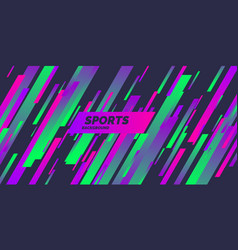 Abstract background with dynamic shapes colored vector