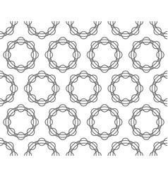 ball race pattern vector image