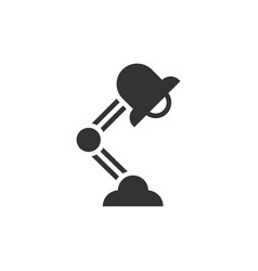 office lamp icon vector image