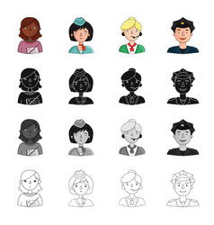 profession hobby education and other web icon in vector image