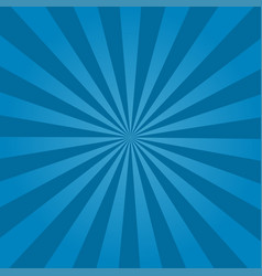 rays background blue vector image