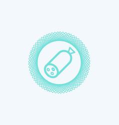 sausage icon sign symbol vector image