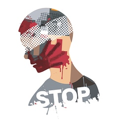 Stop Violence And War vector
