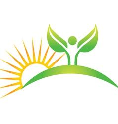 wellness spirit vector image
