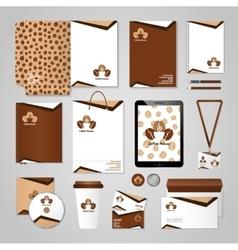 Coffee House Identity vector image