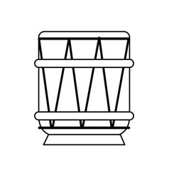 carnival draw vector image