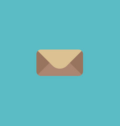 icon flat mail element of vector image vector image