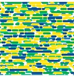 Brazilian flag color vector
