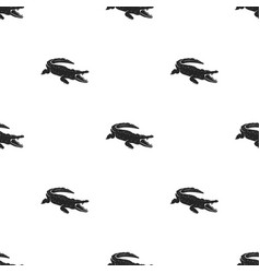 Crocodile pattern design alligator seamless vector