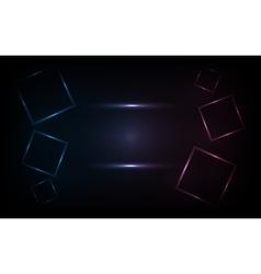 futuristic color vector image