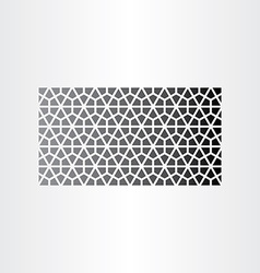Geometric abstract background black pattern vector