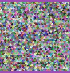 geometric abstract regular triangle mosaic vector image