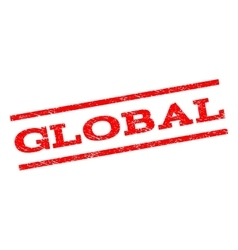 Global Watermark Stamp vector