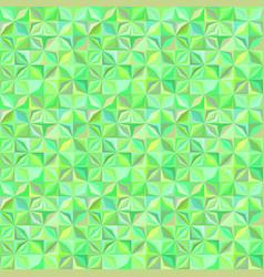 green geometrical stripe tile mosaic pattern vector image
