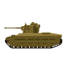 Tank infantry mkii matilda world war 2 britain vector