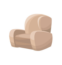 sofa chair furniture image vector image vector image