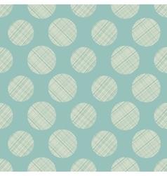 seamless circles abstract ornament vector image vector image