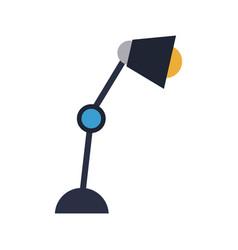 Desk lamp bulb light electric element vector
