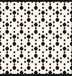 dots seamless pattern simple minimalist black bg vector image