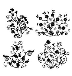 Floral Motifs Design vector image