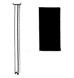 International code flag for the letter h vintage vector