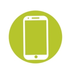 modern phone icon image vector image