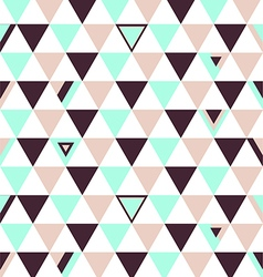Netherlands Top Colors Background Triangle Polygon vector image