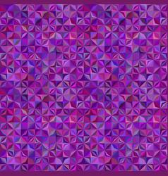 Purple geometric striped mosaic pattern vector