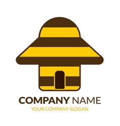 real estate logo templatebee logo stock vector image