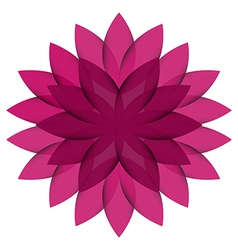 Purple Wheel Flower transparent vector image