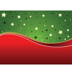 Green and red backgrund vector image vector image