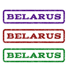 Belarus watermark stamp vector
