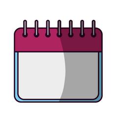 Calendar event date vector
