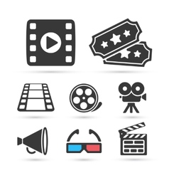 Cinema trendy icon for design elements vector image