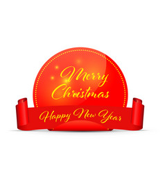 Merry christmas happy new year converted vector