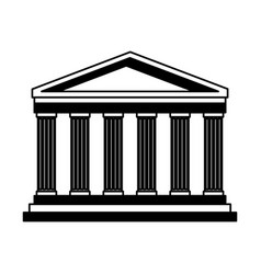 pantheon italy landmark vector image