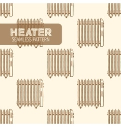 Oil-Filled Electric Heater vector image