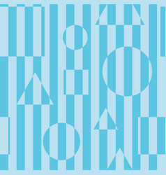 striped seamless background vector image vector image