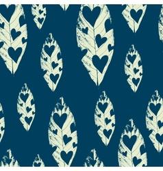 leaf background design vector image