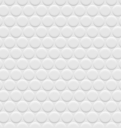 3d white background seamless pattern with circles vector image vector image