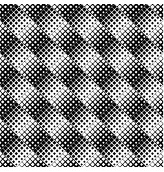 abstract black and white diagonal square pattern vector image