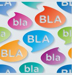 Bla-bla-bla walpaper vector
