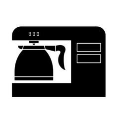 Coffeemaker coffee machine black color icon vector