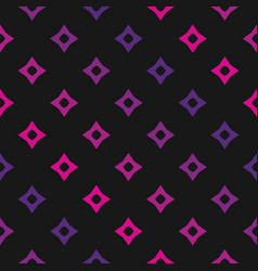 Colorful geometric seamless pink pattern vector