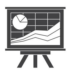 Financial statistics concept vector