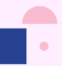 Geometric background in material design vector