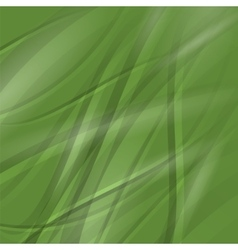 Line Green Wave Pattern vector image